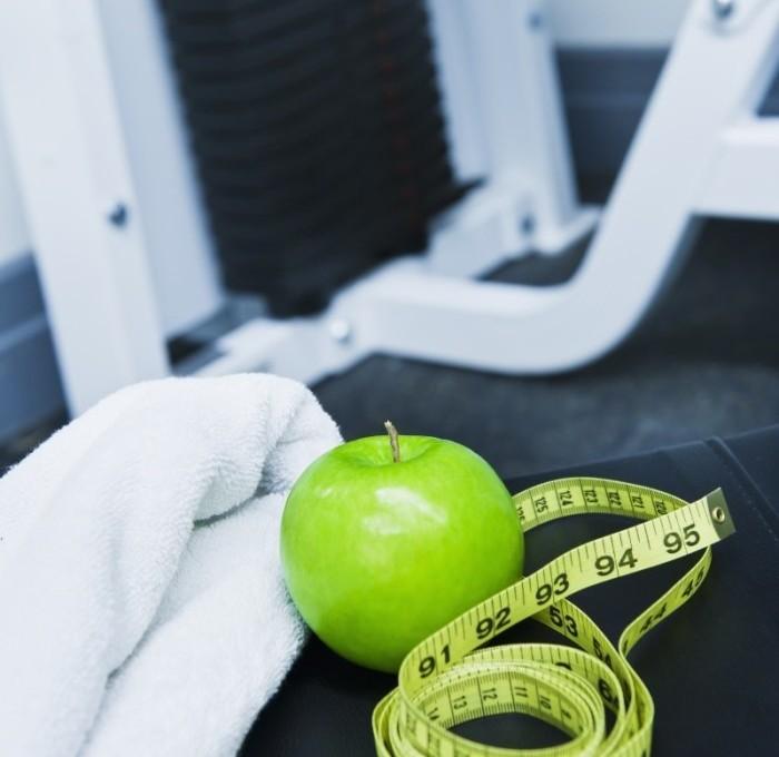 An apple a day keeps the fat away