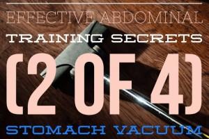 Stomach-vacuum
