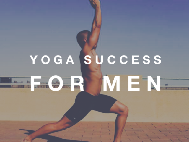 Yoga success for men