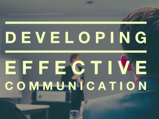 Developing Effective Cоmmunісаtіоn (Listening, Public Speaking, Presenting)