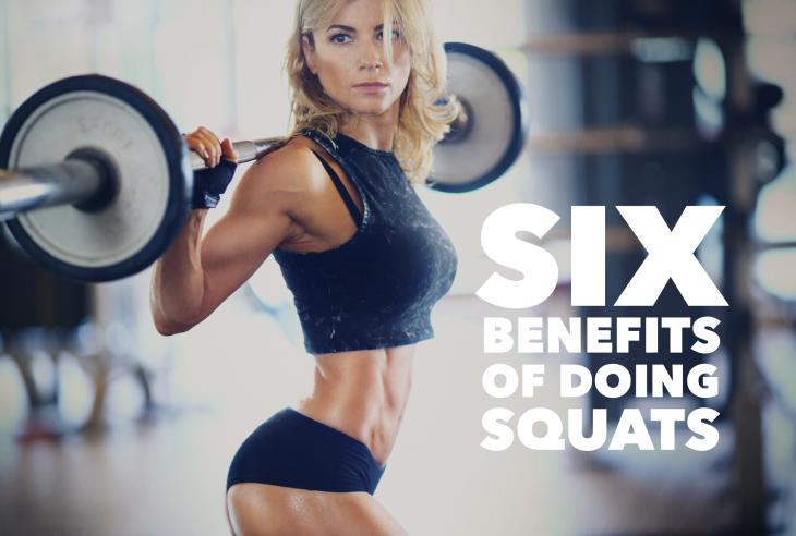 Six Benefits of Doing Squats
