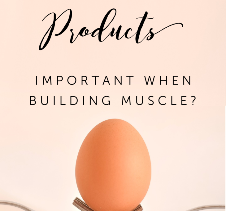Are Dairy Products Important When Building Muscle?