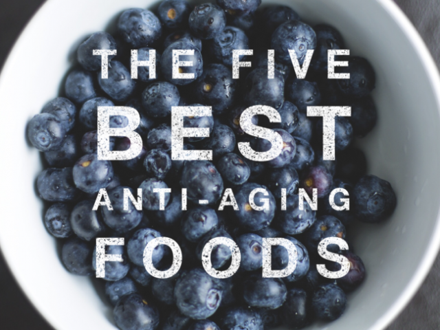 The Five Best Anti-Aging Foods