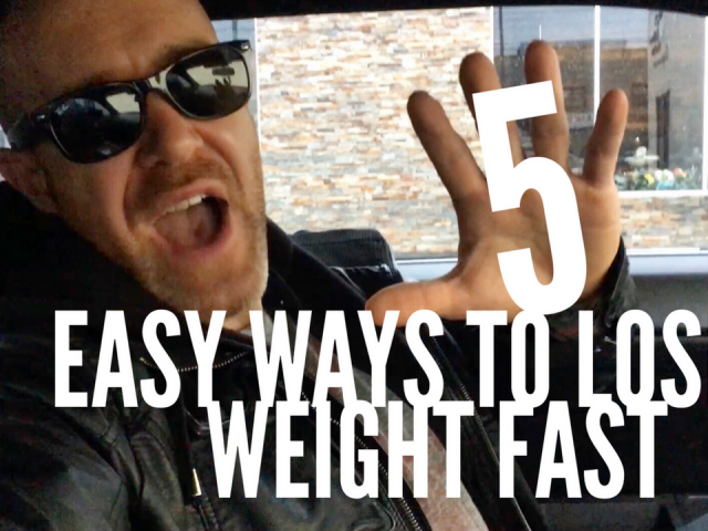 5 easy ways to lose weight fast